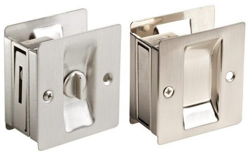 Square Pocket Door Hardware