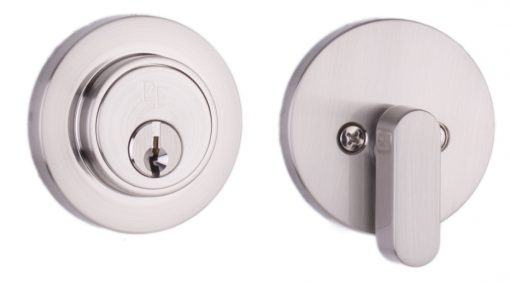 Transitional Series - Satin Nickel - Round Deadbolt