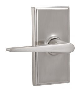 Elegance - Urbana Lever - Satin Nickel Finish