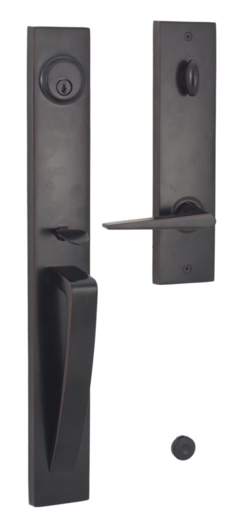 Xanthis Entry Handle - Interior exterior with Urbana lever